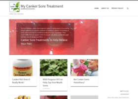 mycankersoretreatment.com
