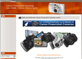 mycanonpowershotcamera.com