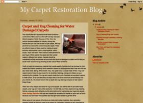 mycarpetrestorationblog.blogspot.in