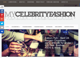 mycelebrityfashion.co.uk