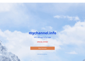 mychannel.info