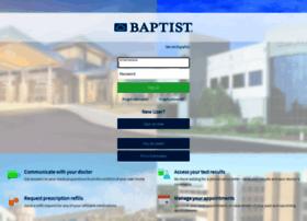 mychart.baptistonecare.org