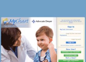 mychart.dreyermed.com