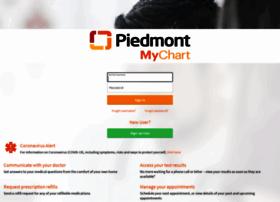 Mychart.piedmont.org
