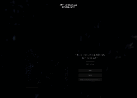 mychemicalromance.com
