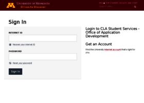 mycla.umn.edu