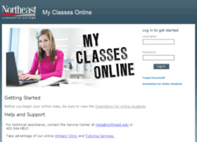 myclasses.northeast.edu