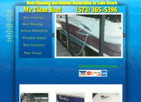 mycleanboat.com