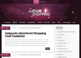 myclubshopping.de