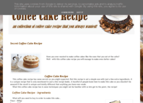 mycoffeecakerecipe.blogspot.ro