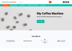 mycoffeemachine.com