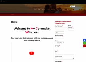 mycolombianwife.com