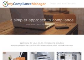 mycompliancemanager.com