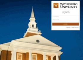 myconnect.waynesburg.edu