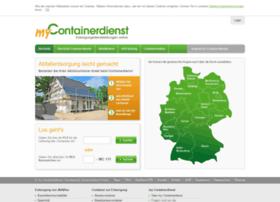 mycontainerdienst.de