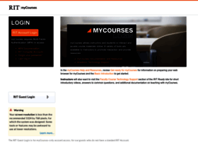 mycourses.rit.edu