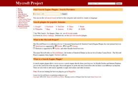 mycroft.mozdev.org