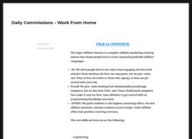 mydailycommissions.com