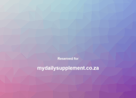 mydailysupplement.co.za