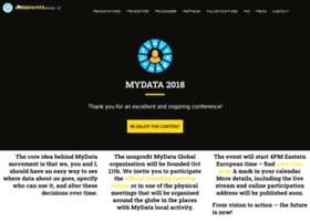mydata2018.org