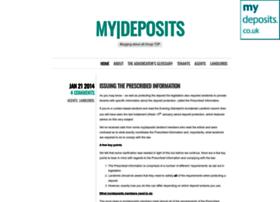 mydepositsblog.wordpress.com