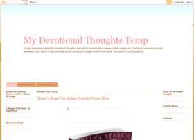 mydevotionalthoughtstemp.blogspot.com