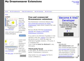 mydreamweaverextensions.com