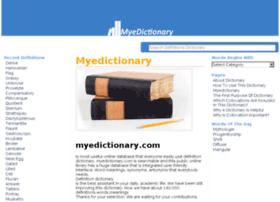 myedictionary.com