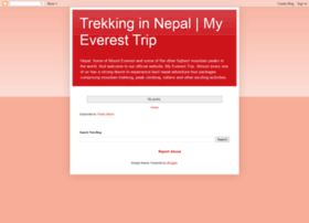 myeveresttripnepal.blogspot.com