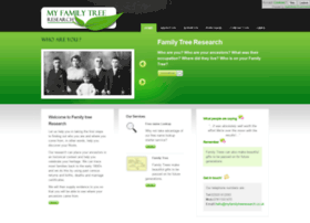 myfamilytreeresearch.co.uk