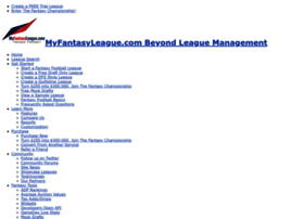 myfantasyleague.com