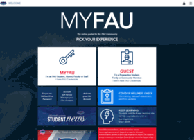 myfau.fau.edu