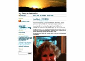 Myfavoriteobits.wordpress.com