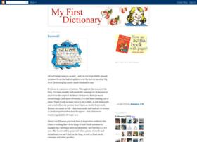 myfirstdictionary.blogspot.com