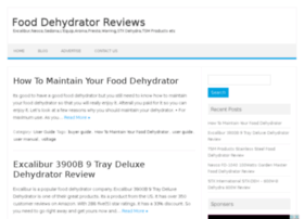 myfooddehydrator.com