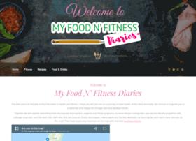 myfoodnfitnessdiaries.com