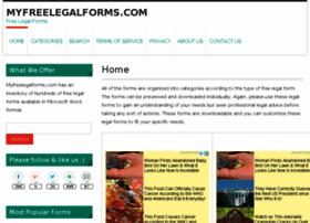 myfreelegalforms.com