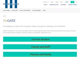 mygate.wingate.edu