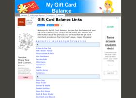 mygiftcardbalance.org