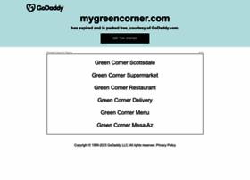 mygreencorner.com