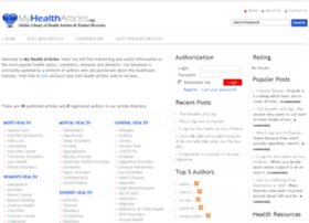 myhealtharticles.org