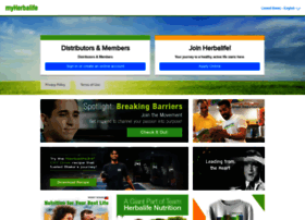 myherbalife websites and posts on myherbalife