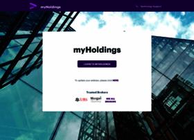 Myholdings.accenture.com
