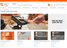 myhomedepotaccount.com info. Credit Center