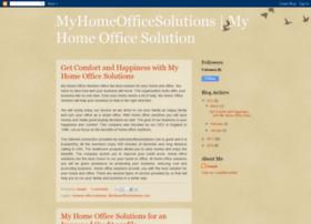 myhomeofficesolution.blogspot.com
