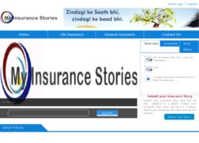 myinsurancestories.com