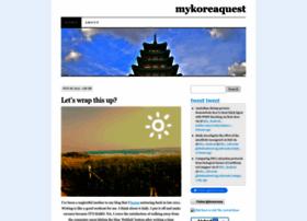 mykoreaquest.wordpress.com