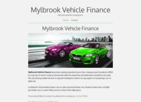 mylbrookvehiclefinance.co.uk