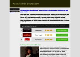 mylenefarmer-bleunoir.com