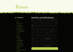 mylexicon.de